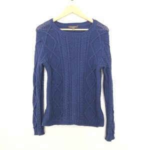 Tommy Bahama Crew Neck Pullover Cable Knit Long